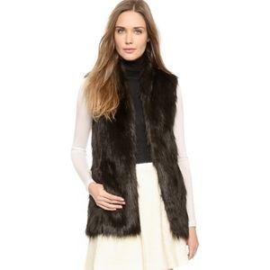 Club Monaco Jackets & Coats - Club Monaco Faux Fur Vest